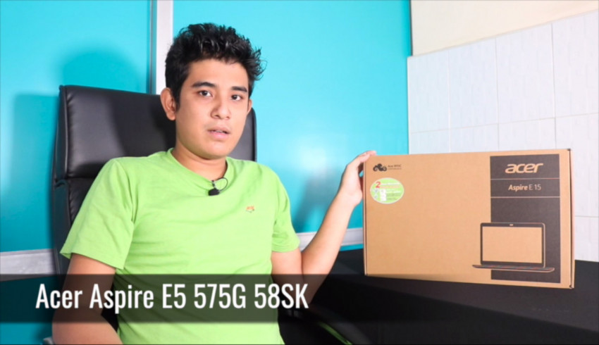 Unboxing Acer Aspire E5-575G with Intel Kaby Lake Processor